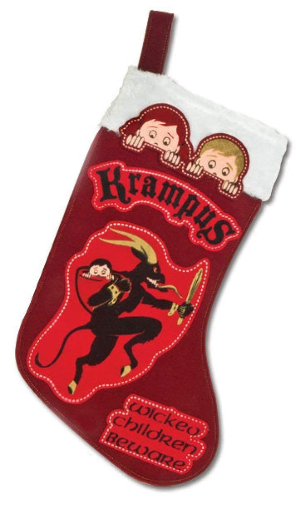 Accoutrements Krampus Christmas Stocking