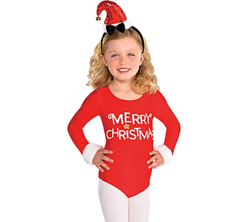 Amscan Christmas Santa Bodysuit-Small (4-6)
