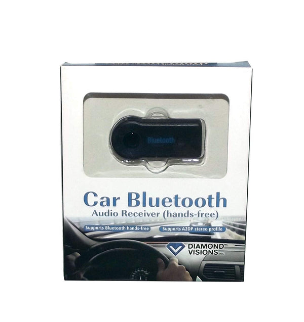Diamond Visions Car Bluetooth Hands-Free Audio Receiver