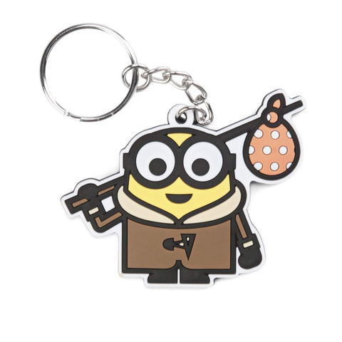 MINIONS, Officially Licensed Original Artwork, Product - 3D Rubber KEYCHAIN