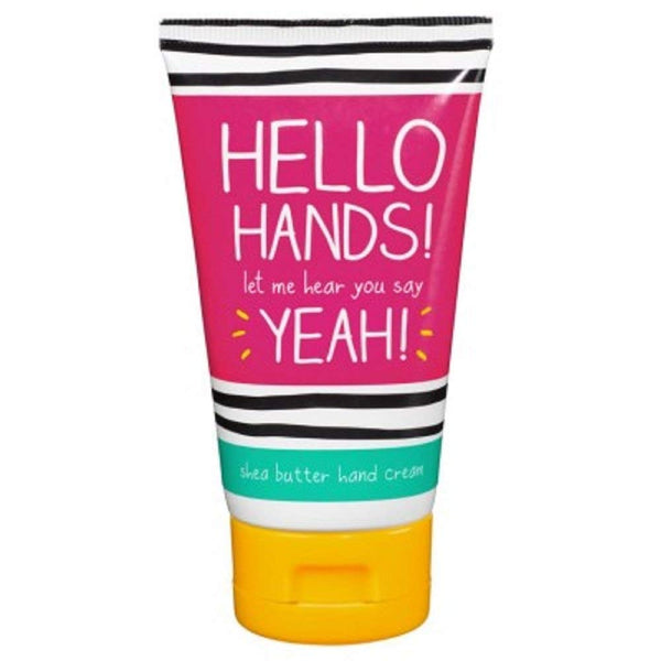 Wild & Wolf Happy Jackson Hello Hands Shea Butter Hand Cream-2.5oz