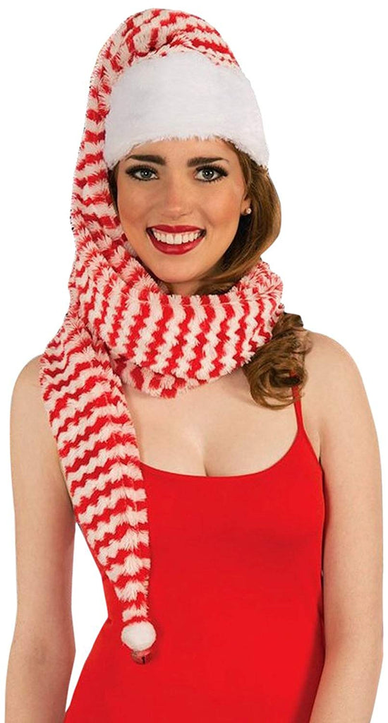 Forum Novelties Women's Santa Cozy Wrap Hat
