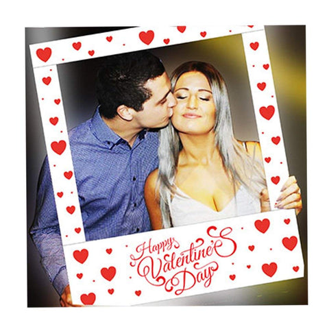 Aahs Engraving Valentine's Day Party Frame Photo Prop, 35 X 30 inches