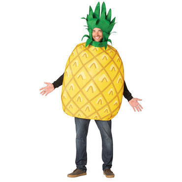 Rasta Imposta Big Kahuna Pineapple Adult Costume-
