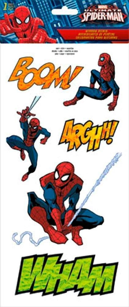 Spider-Man Comic Decal Set
