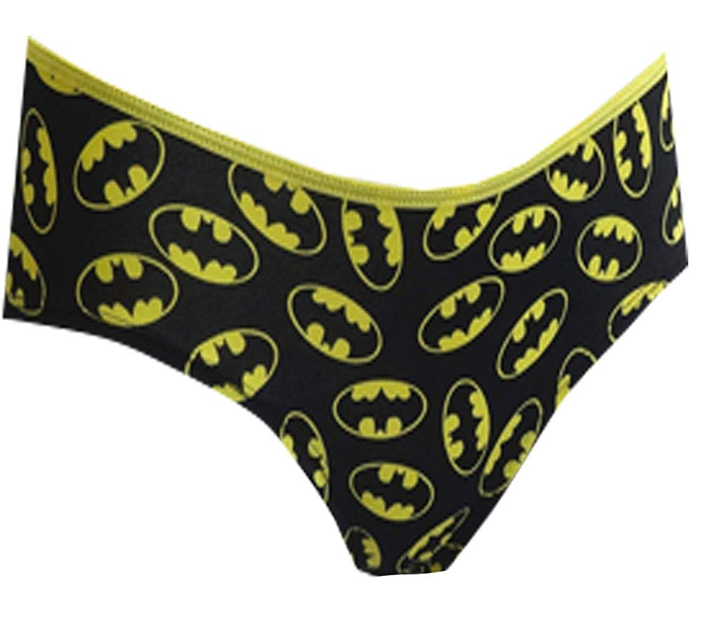 DC Comics Batgirl Logo Panty Junior Cut Black P