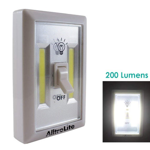 AlltroLite COB LED Cordless Light Switch