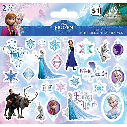 Sandylion Sandylion Disney Stickers, 2-Sheet, Frozen
