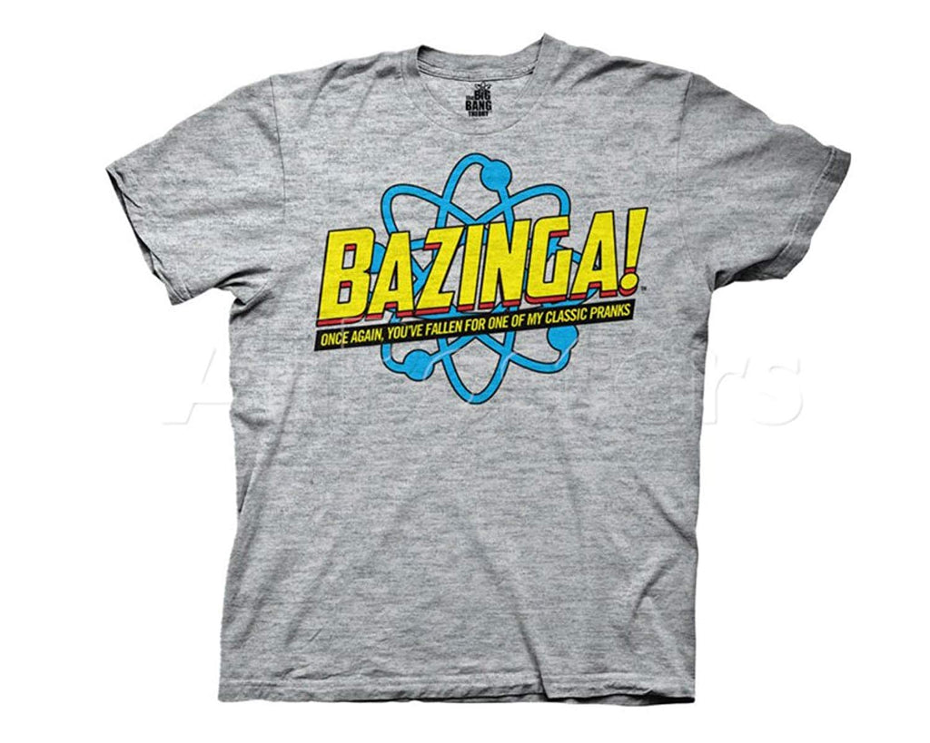 Big Bang Theory Bazinga! Once Again Mens Tee (Large)