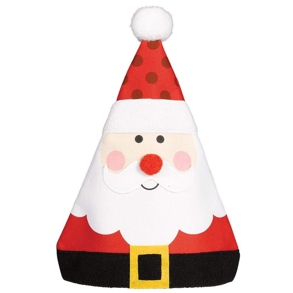 Amscan Christmas Whimsical Santa Hat