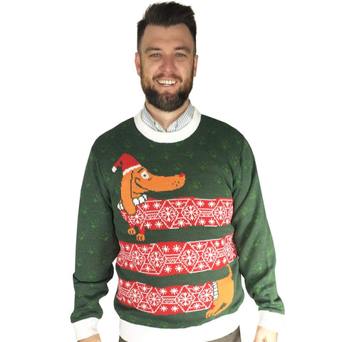 Wienter is Here Ugly Christmas Sweater- FunQi