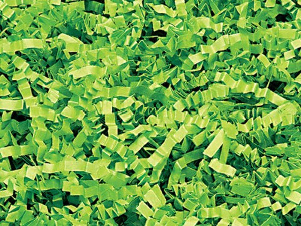 1/2 LB Crinkle Cut Paper Shred – Lime Green