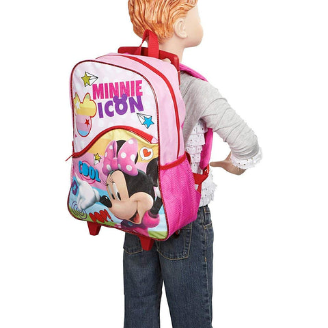 Minnie Mouse Style Icon Rolling Backpack