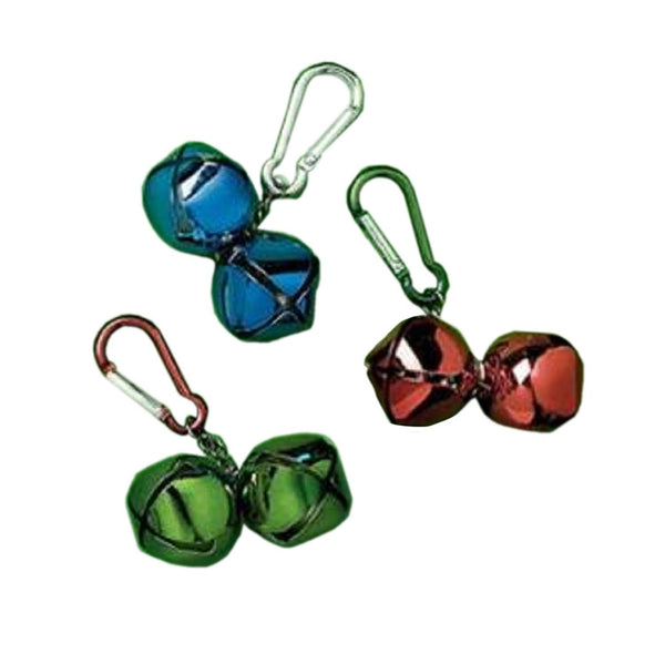 Amscan Jingle Bell Backpack Clip-Includes 1; styles vary