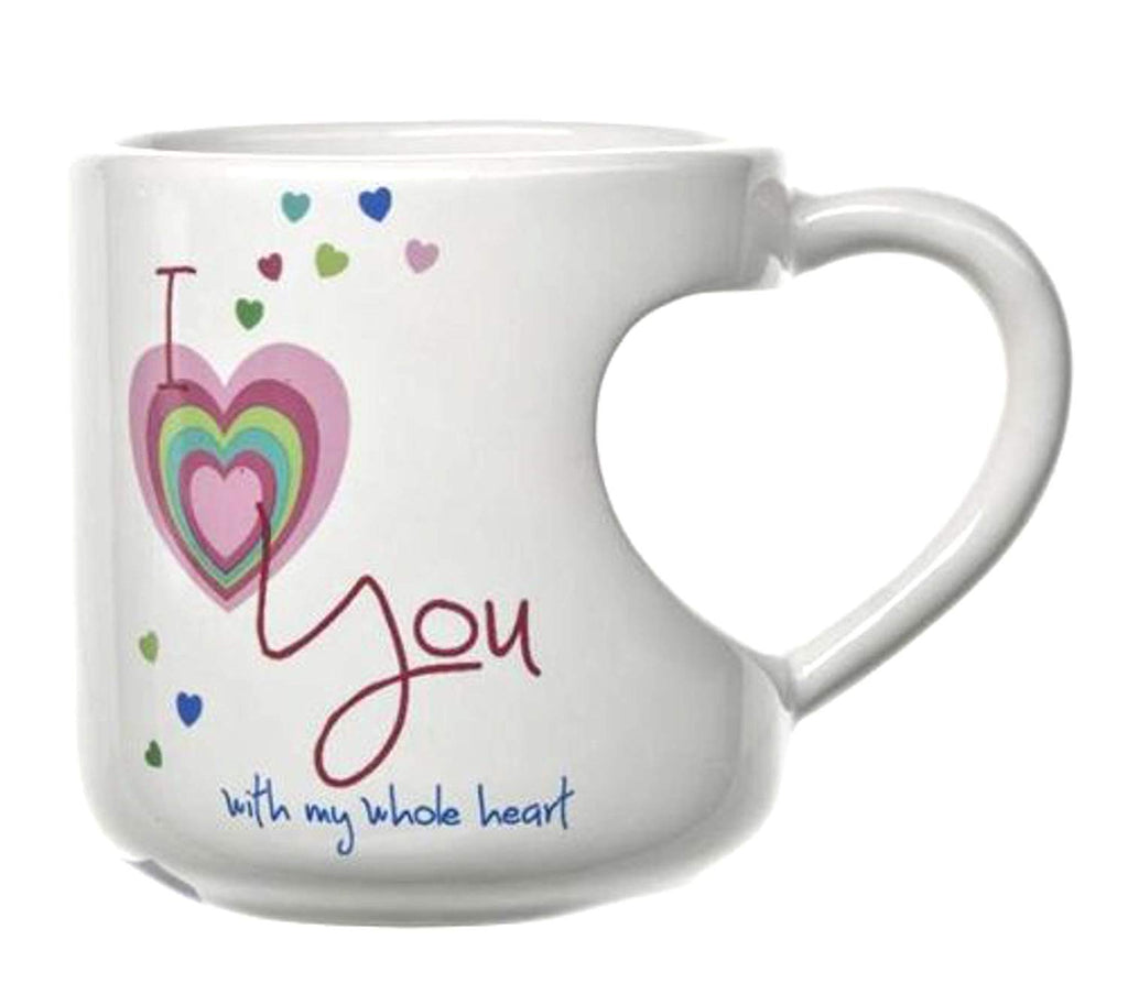 Ganz - I Love You Heart Cut Out Mug