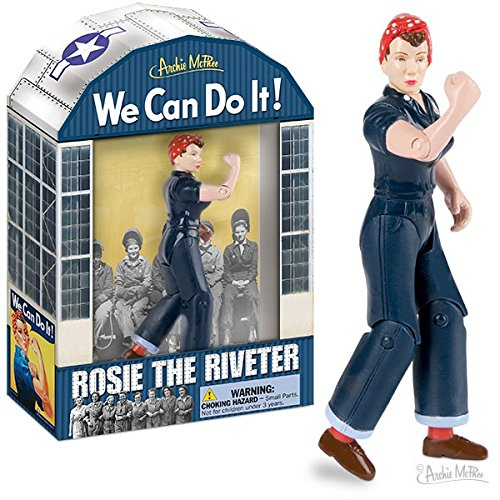Accoutrements Rosie the Riveter Action Figure