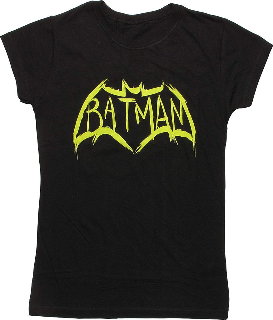 BioWorld Batman V Superman Dawn Of Justice Batman Womens Black Shirt