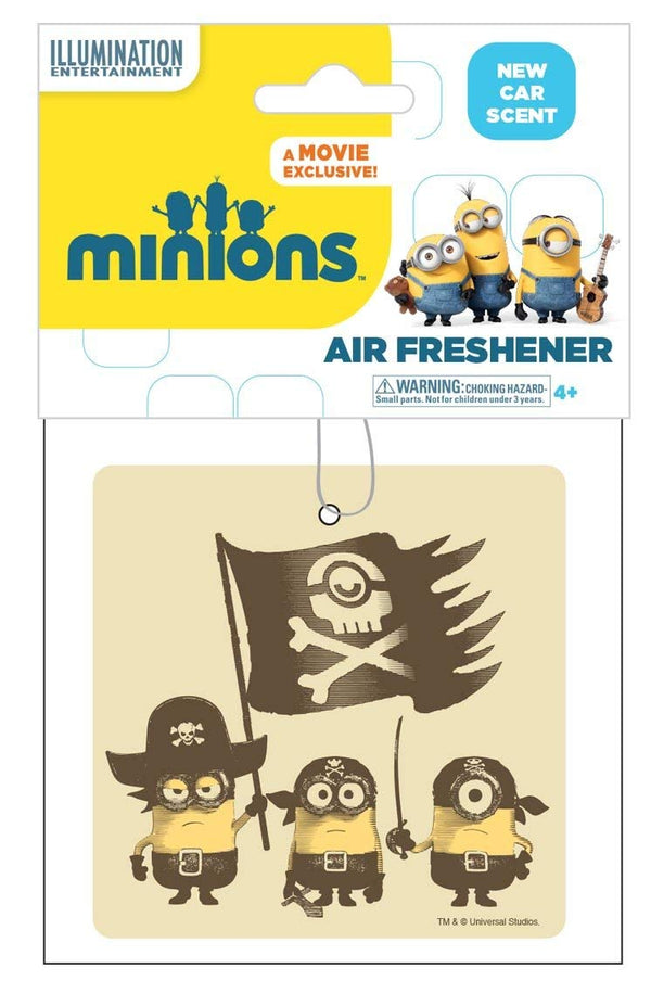 Minions the Movie Pirates Air Freshener-Each