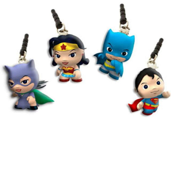 Little Mates DC Comics Cell Phone Jack Charm (Includes 1; Styles vary)