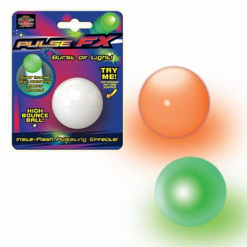 Pulse FX Hi-Bounce Ball-Light Up Ball Assorted (Includes 1: styles vary)