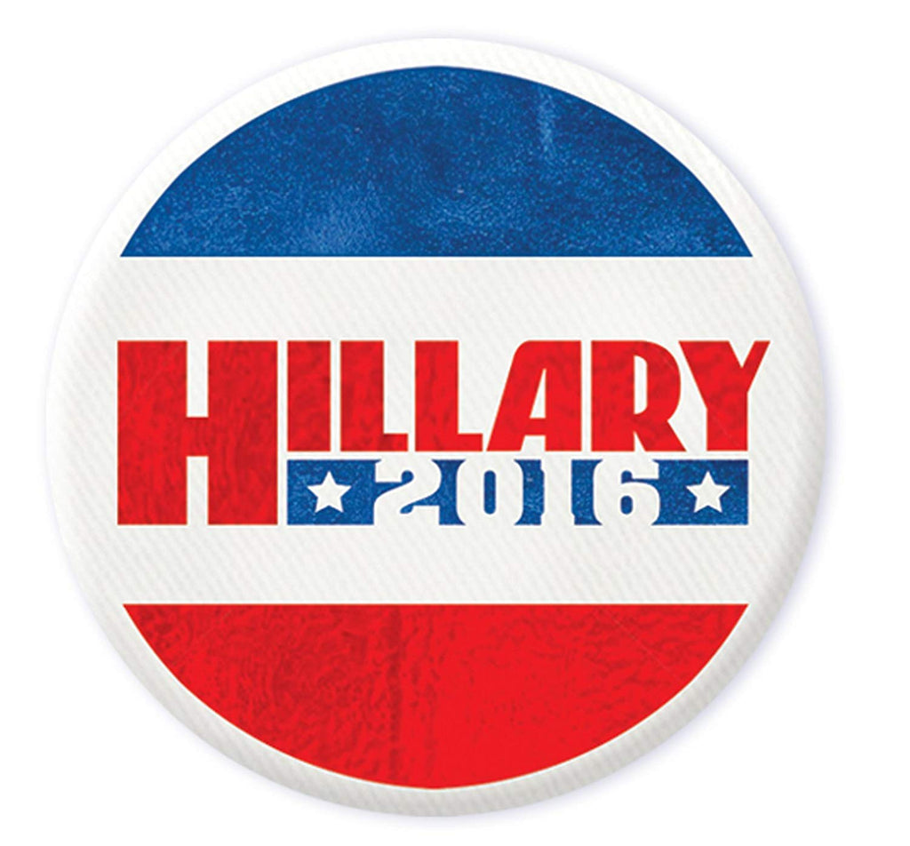 Beistle Democratic Candidate Hillary Clinton Buttons