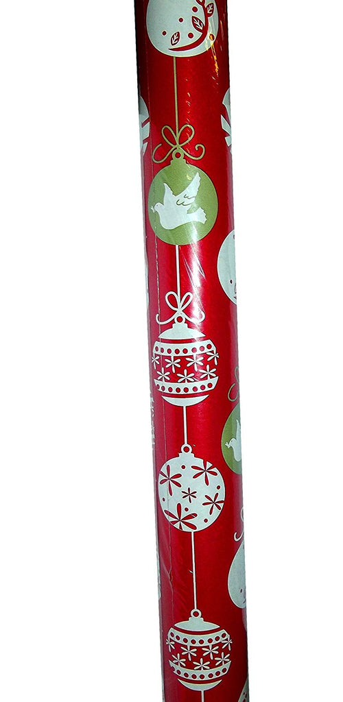 Paper Craft Traditional 40yd Ornament Gift Wrap