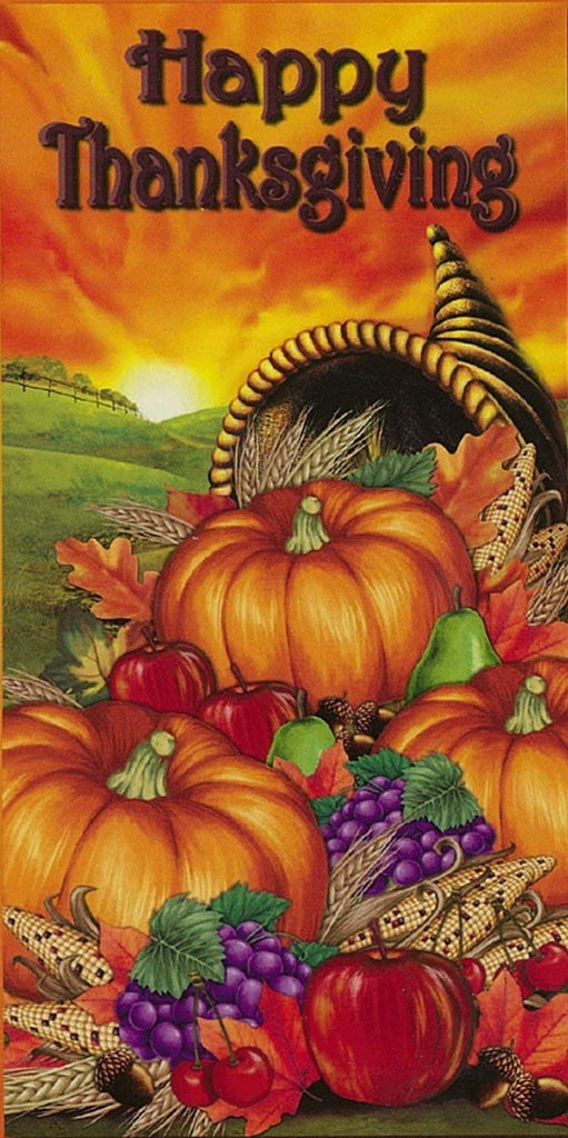 Decoration Door Kit - Happy Thanksgiving