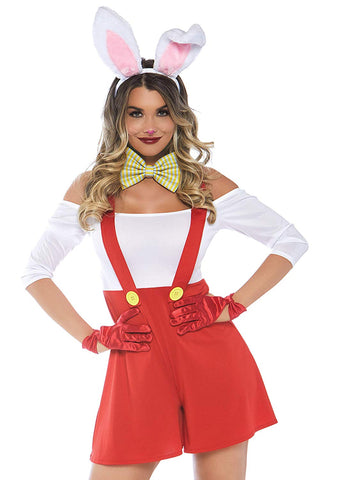 Leg Avenue Women's 3 PC Roger Rabbit Costume