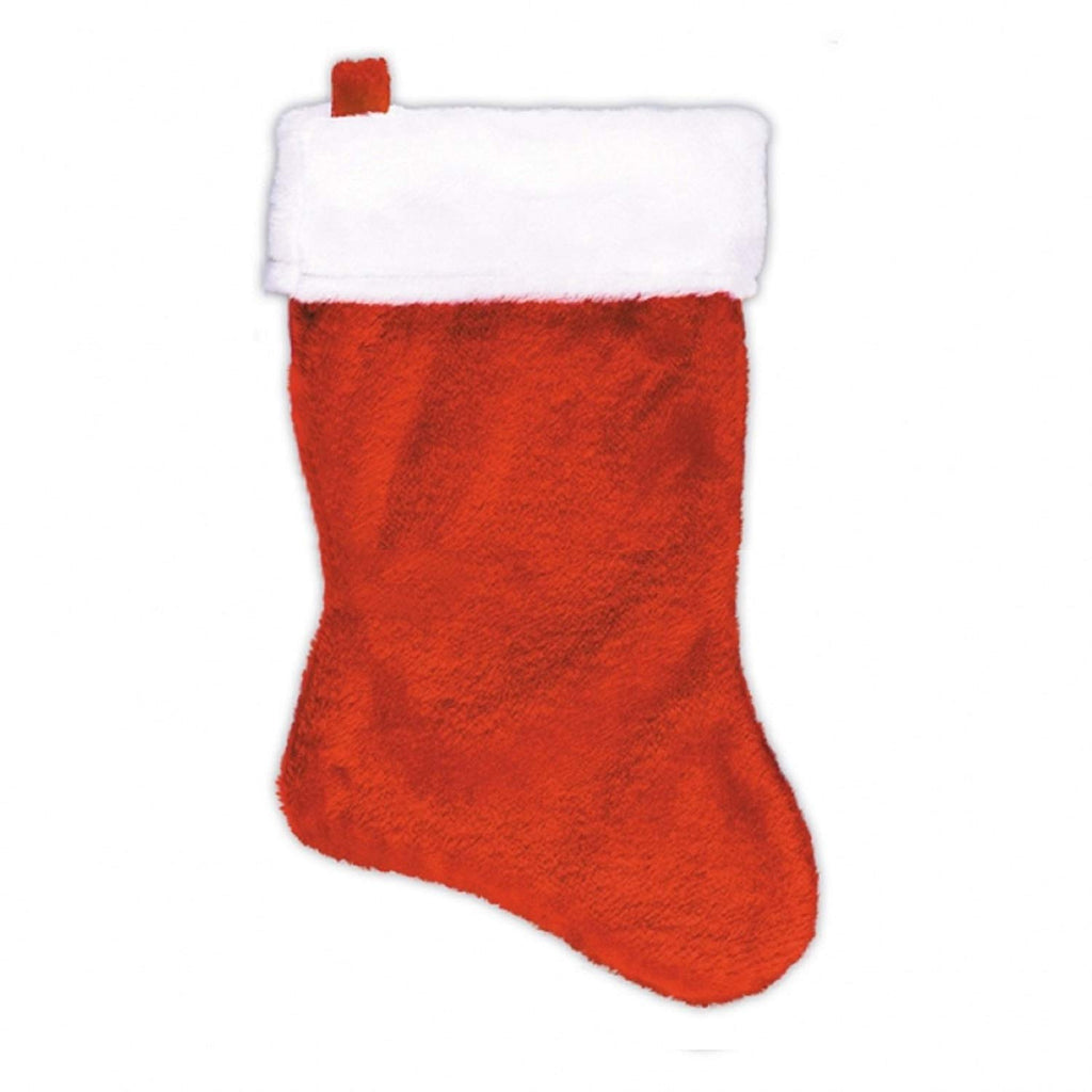 "Amscan 5"" Mini Plush Stocking- 1 count"