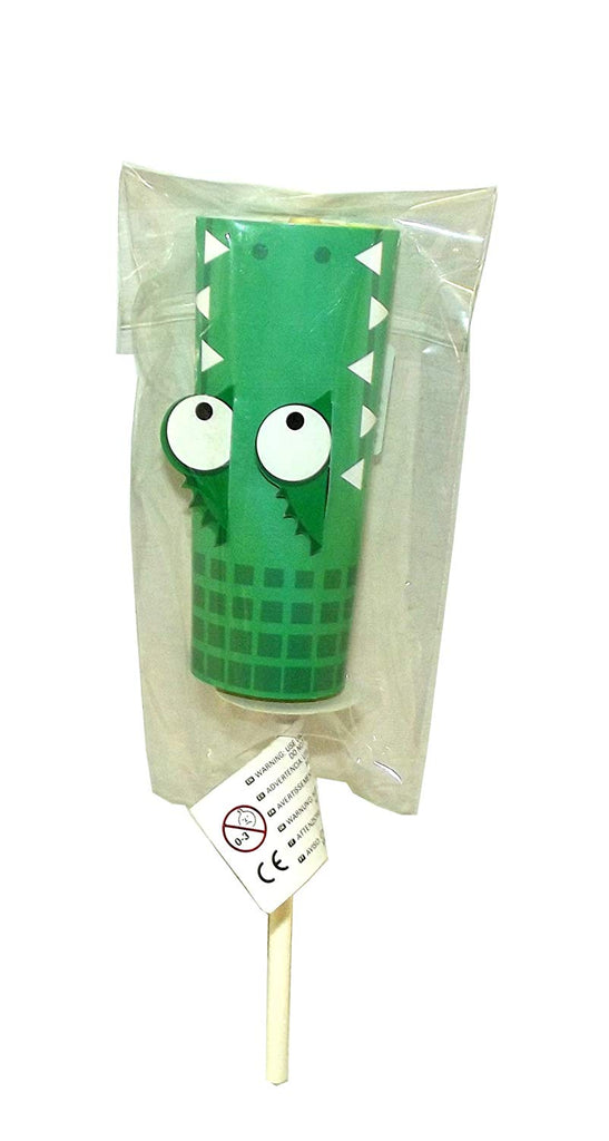 Kikkerland Paper Yoyo Novelty Toy, Alligator