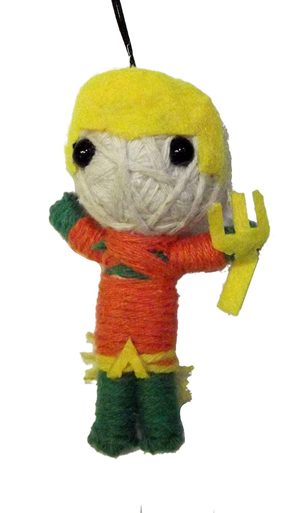 Aquaman String Doll Novelty Keychain-1 piece