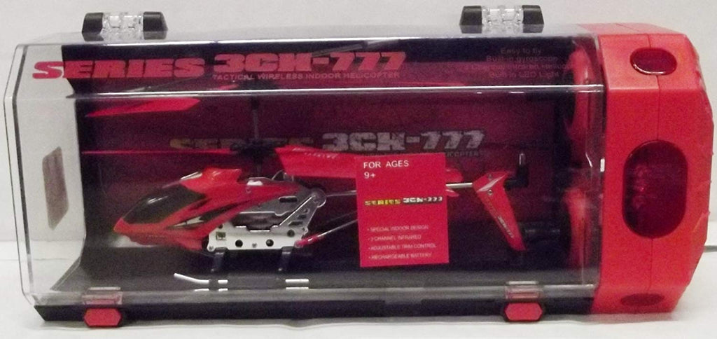 Series 3CH-777 Tactical Wireless Indoor Helicopter (Red)