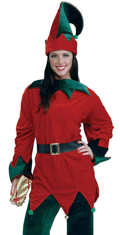 Forum Novelties Santa's Helper Hat Tunic and Belt