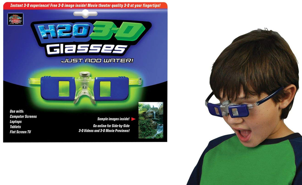 Play Visions H2O 3-D Glasses