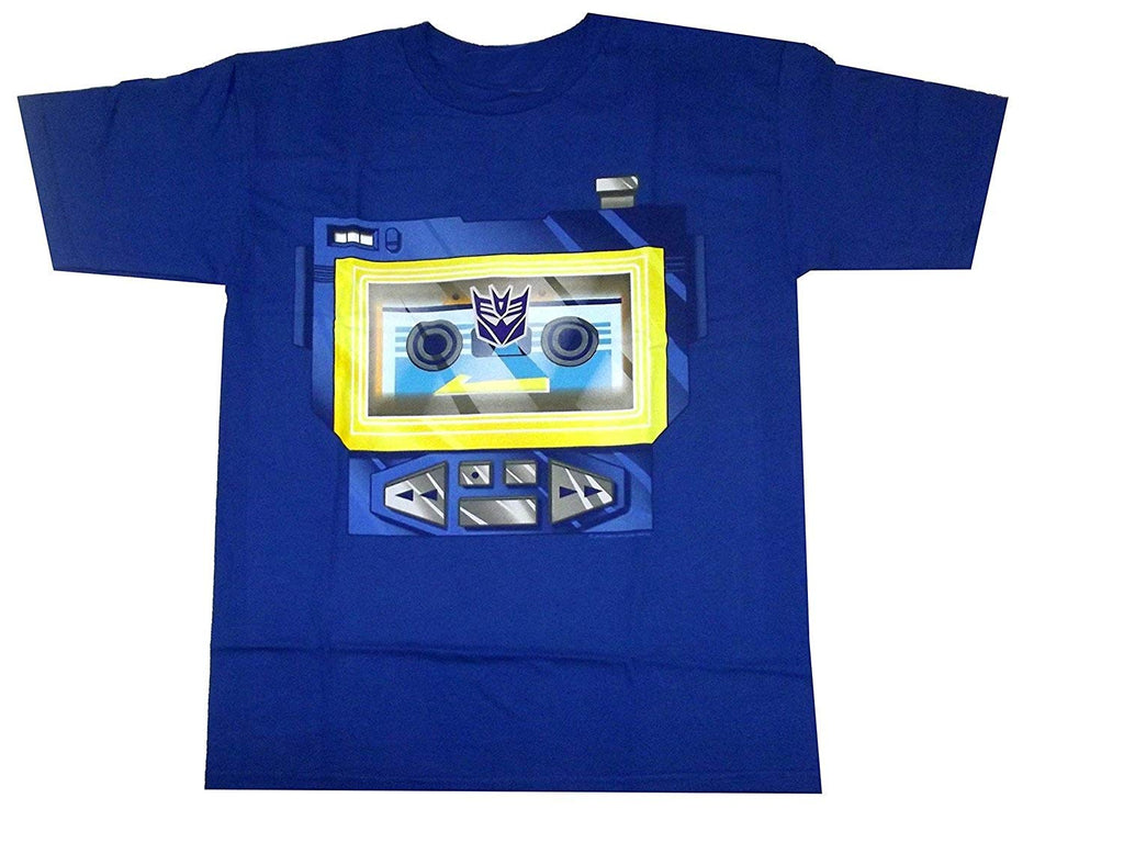 MIGHTY FINE TRANSFORMERS SOUNDWAVE CHESTPLATE TEE SHIRT (X-LARGE)