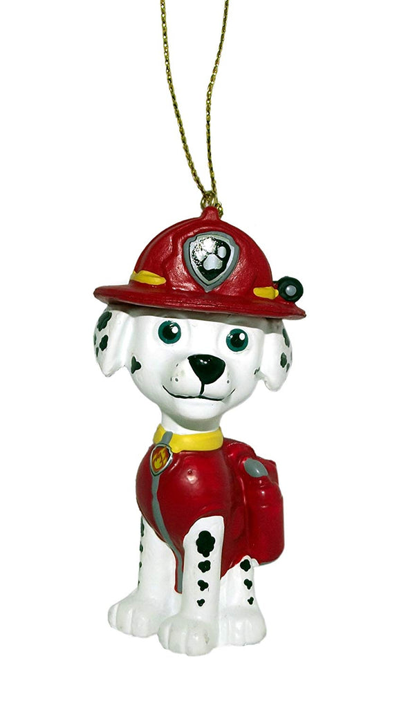 Kurt Adler Paw Patrol 3.5in Christmas Ornament (Each) (Marshall)