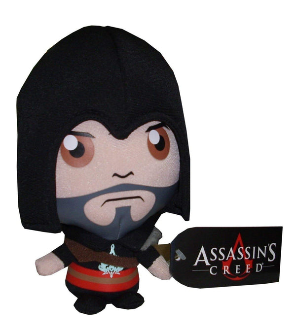 "Goldie Assassin's Creed Brotherhood Ezio 6"" Plush, Black"