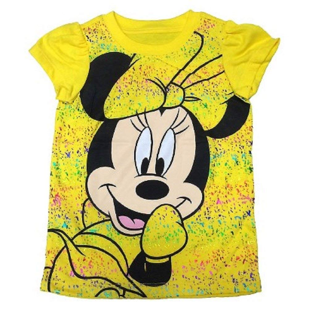 FREEZE Kids Minnie Mouse Girls Yellow Shirt