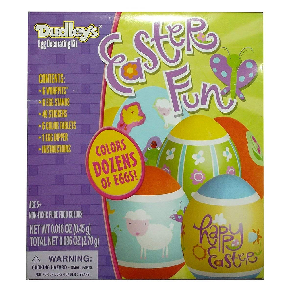 Dudley's Classic Easter Egg Coloring Kit