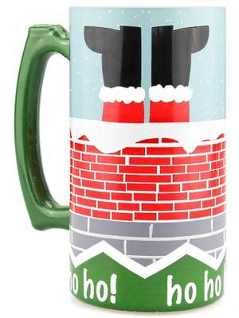 Christmas Bottoms Up Stein, 26 Ounces