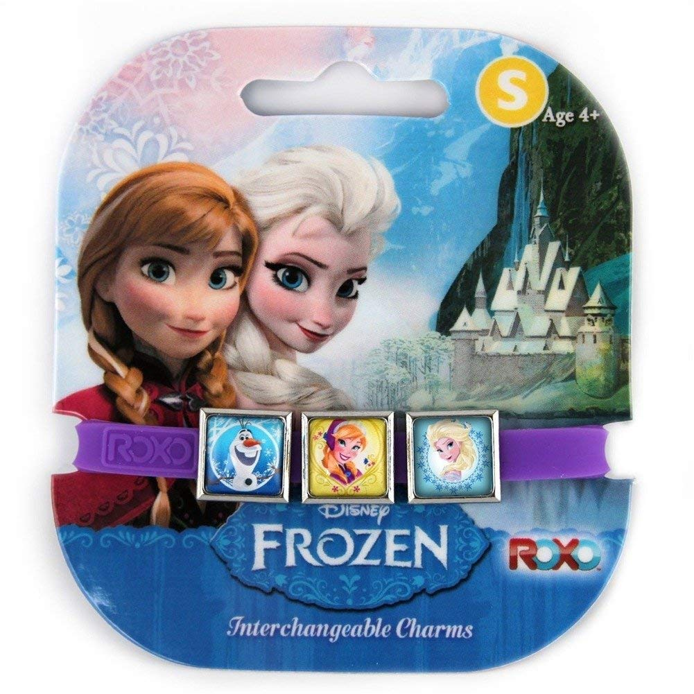 Elsa, Anna, and Olaf Disney Frozen Interchangeable Charms Bracelet