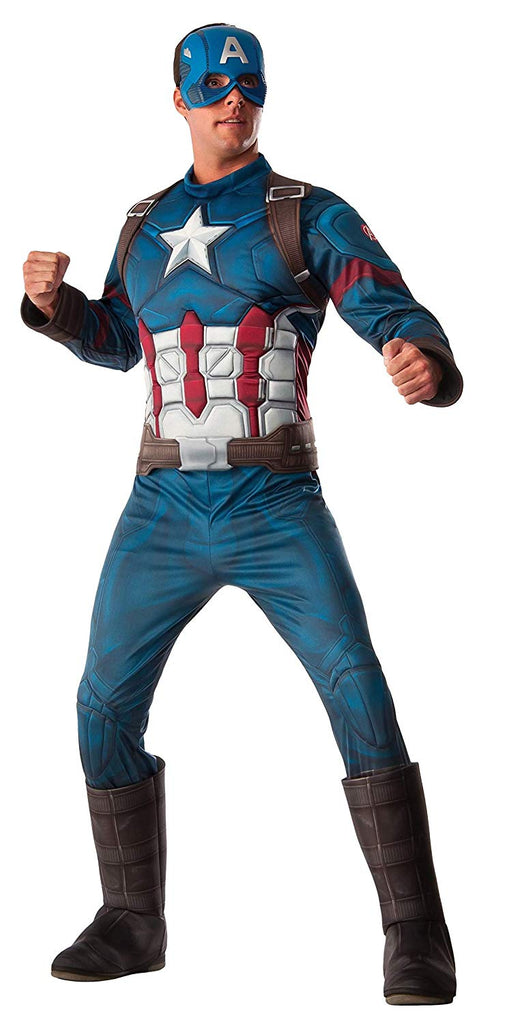 Rubie's Costume Co. Men's Captain America: Civil War Deluxe Muscle Chest Costume