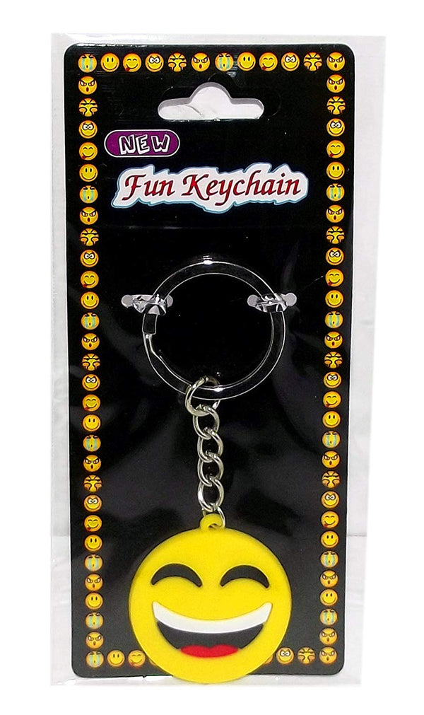 Emoji Keychain, Laugh
