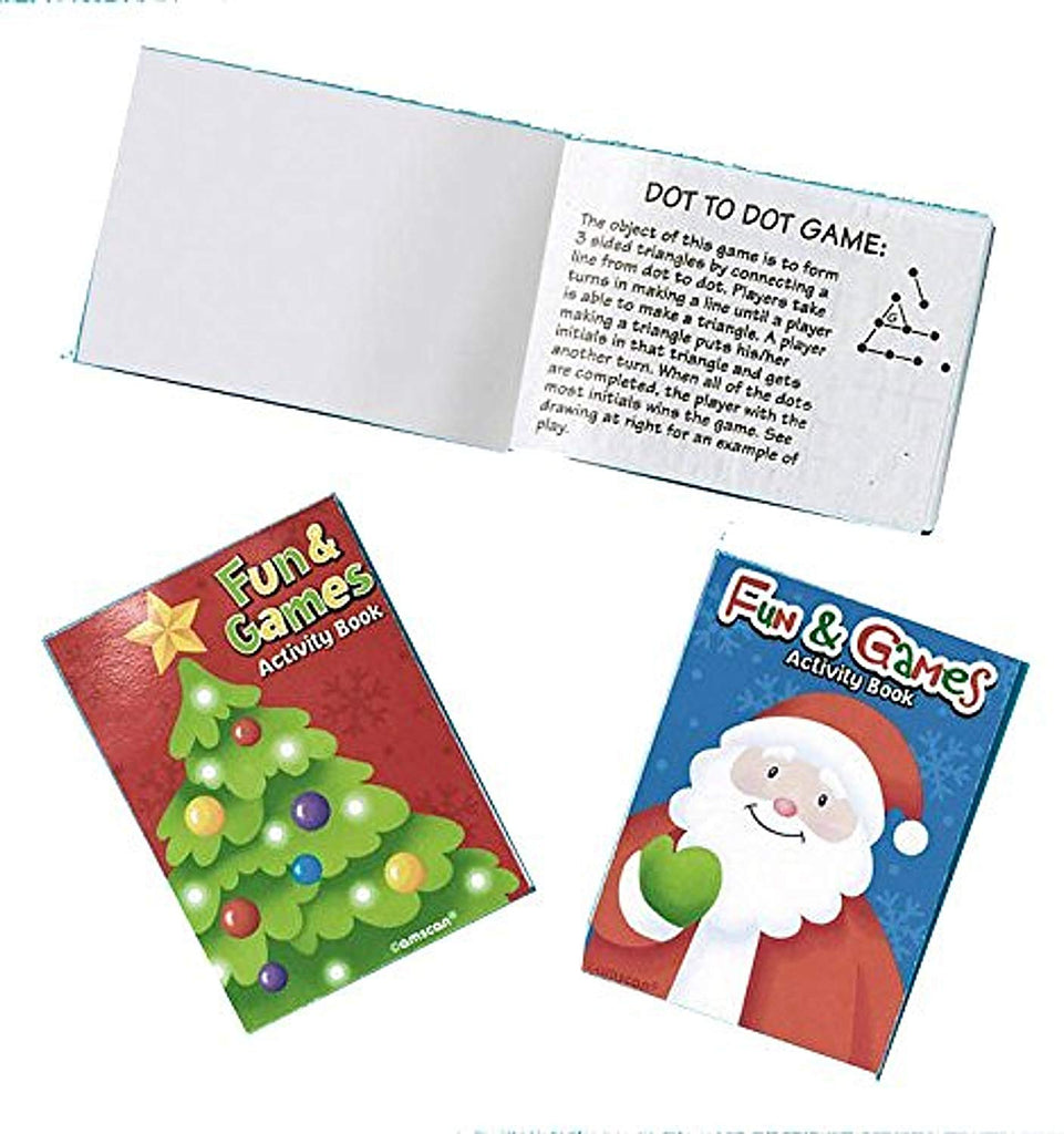 Holiday Favors - 8 Activity Pads