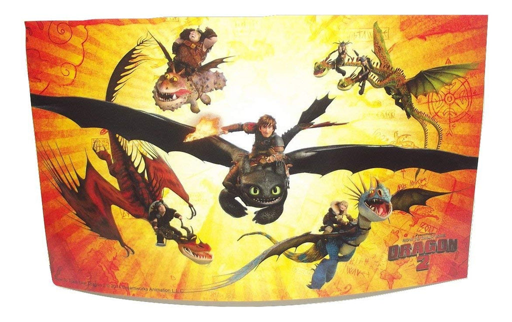How To Train Your Dragon 2 Group Attack Sticker-1 piece