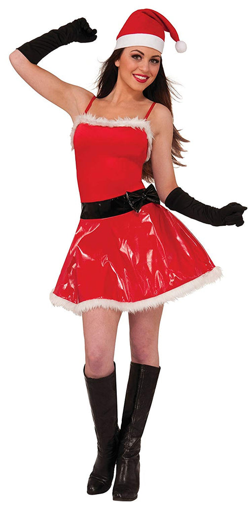 Forum Novelties Women's Naughty Girl Sassy Santa Costume