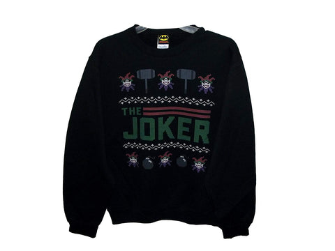 Aztlan Ugly Christmas Sweater The Joker Black