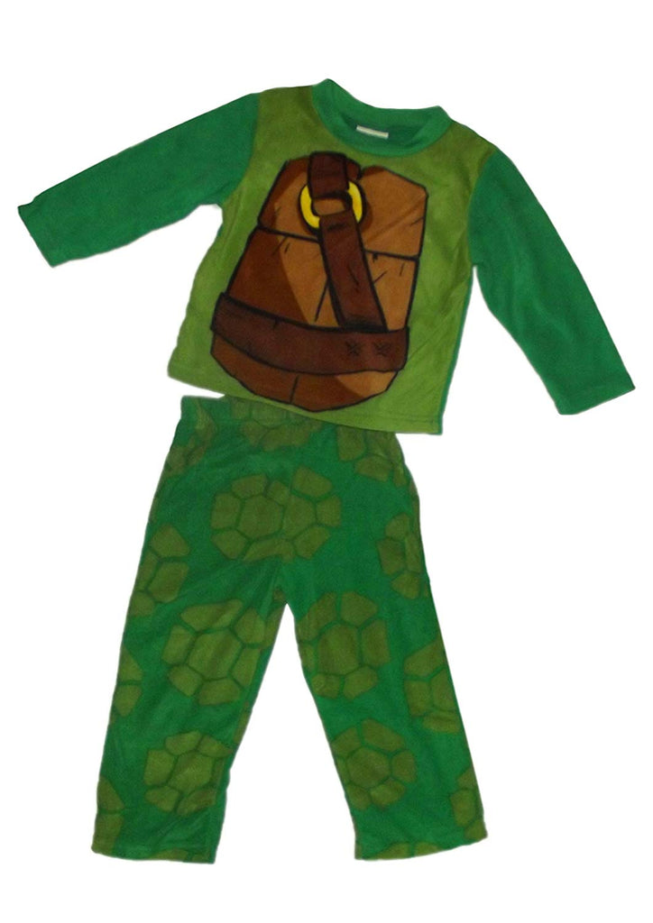 Briefly Stated Teenage Mutant Ninja Turtles Plush Boys (4-10) 2pc Costume Pajama Set (BOYS 10)