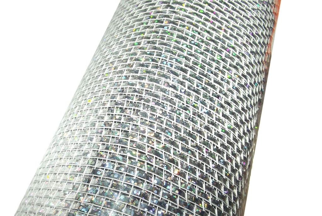 Silver 30-Foot Poly Mesh Roll