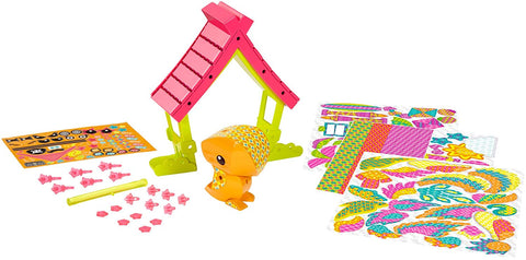 Mattel AmiGami Tropical Bird and Beach House Playset